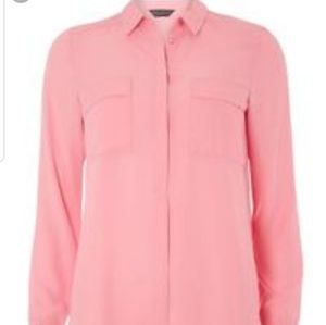 Double pocket pink shirt